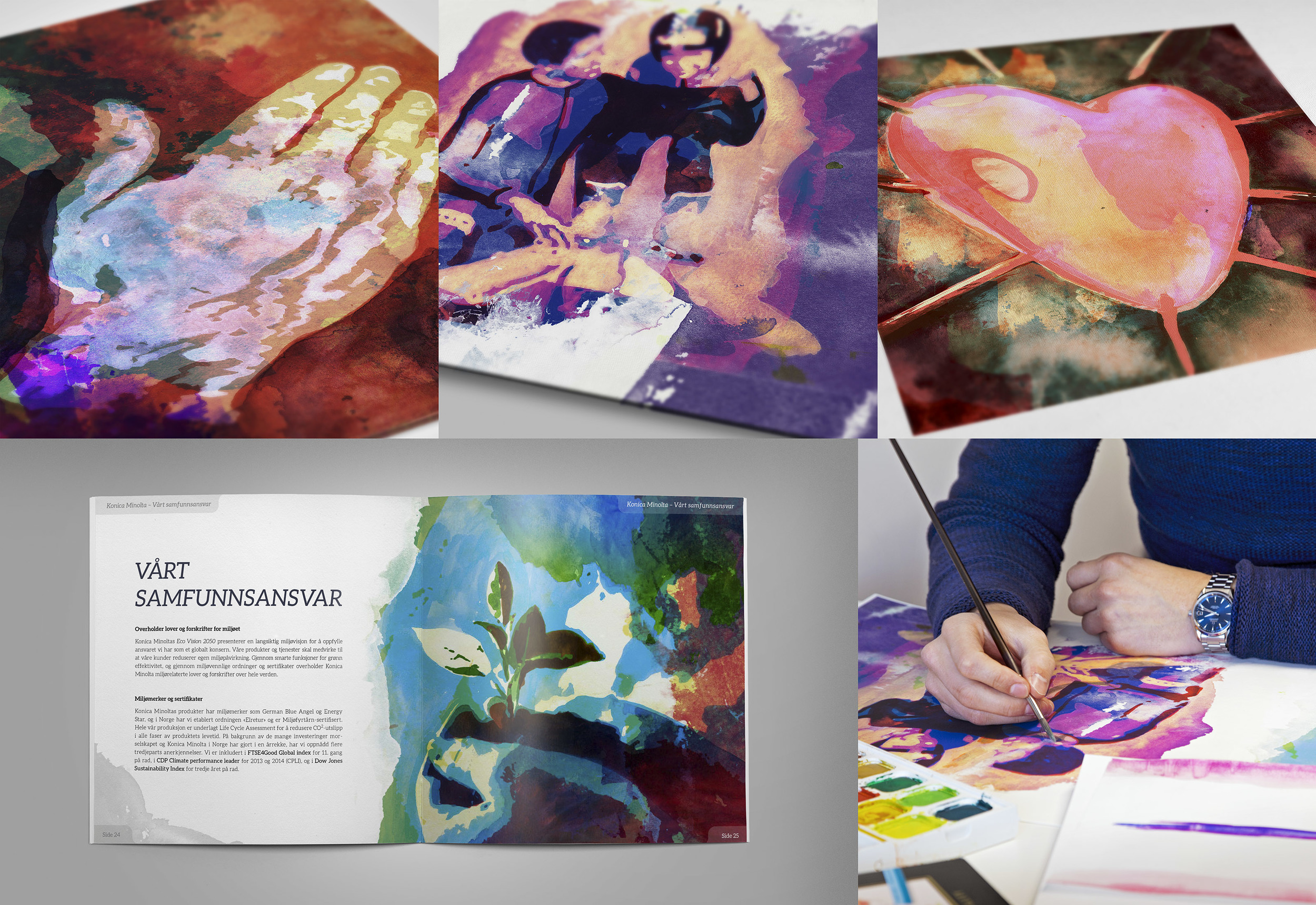Illustrasjoner Konica Minolta