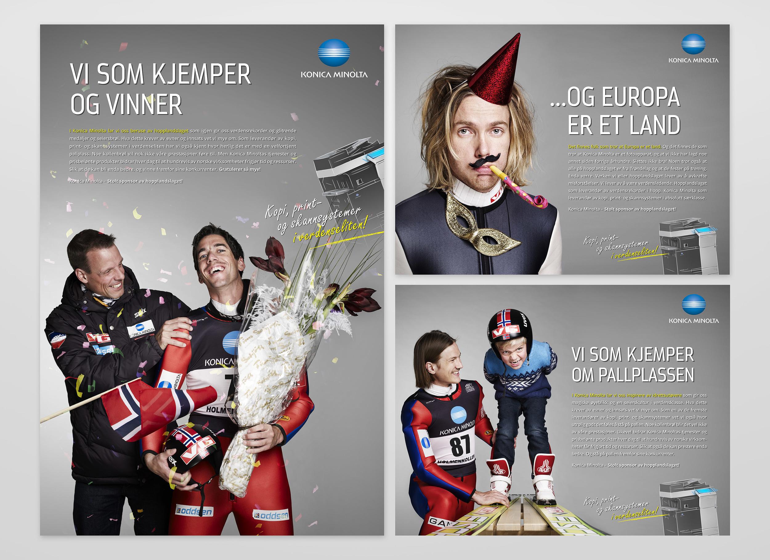 Vår første kampanje med Skiforbundet