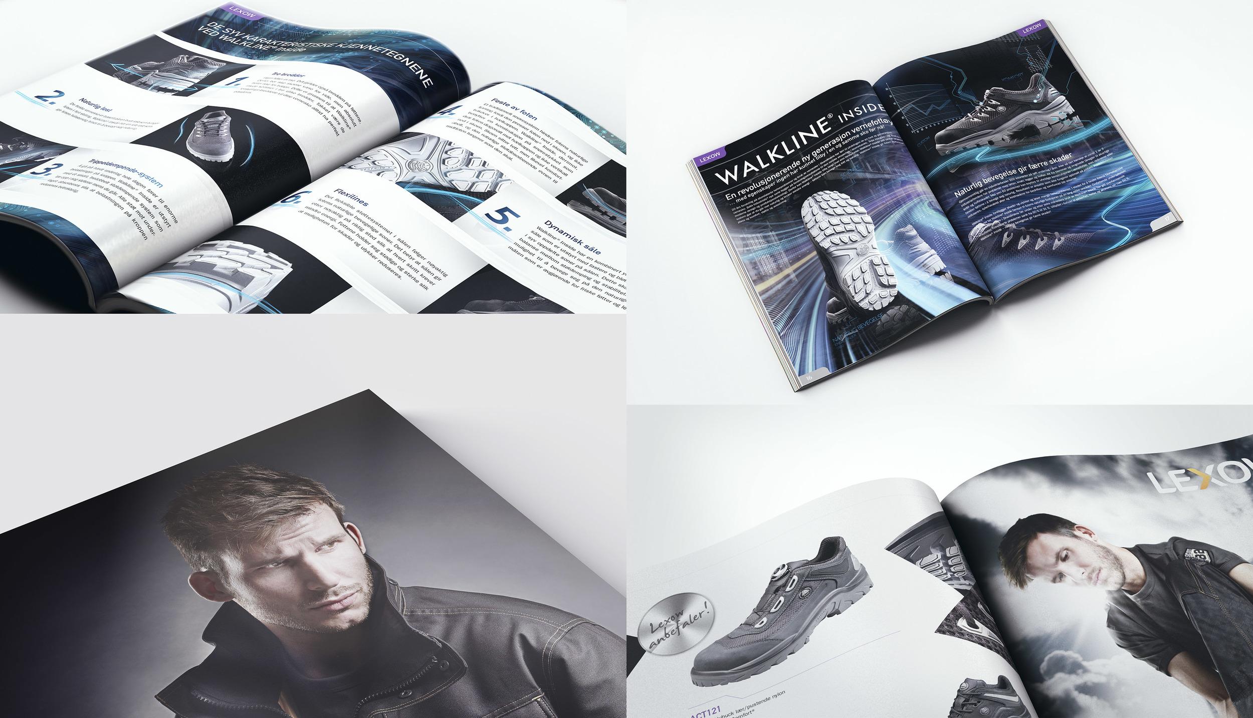 Katalogarbeider, foto og illustrasjon