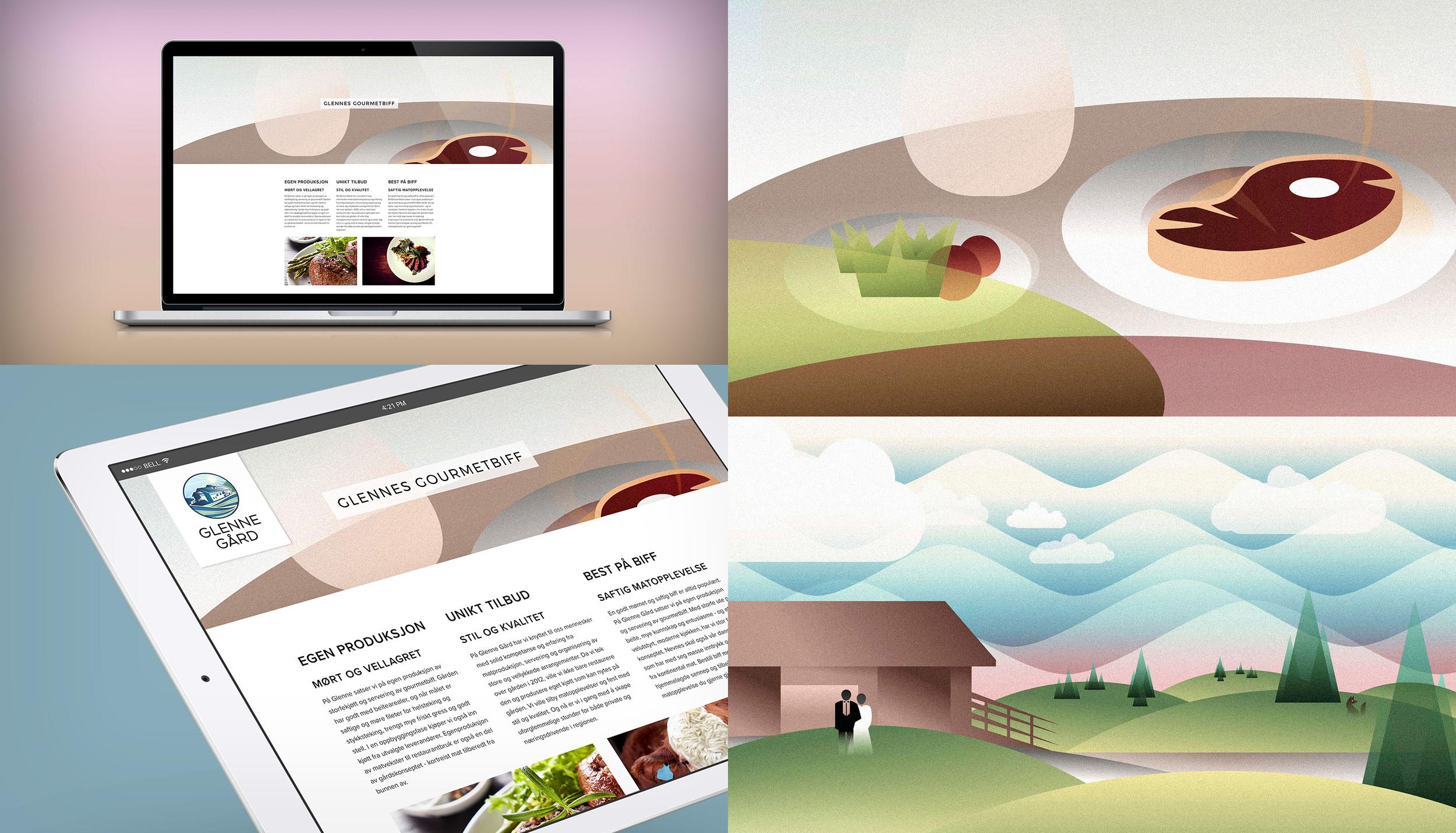 Web og illustrasjon