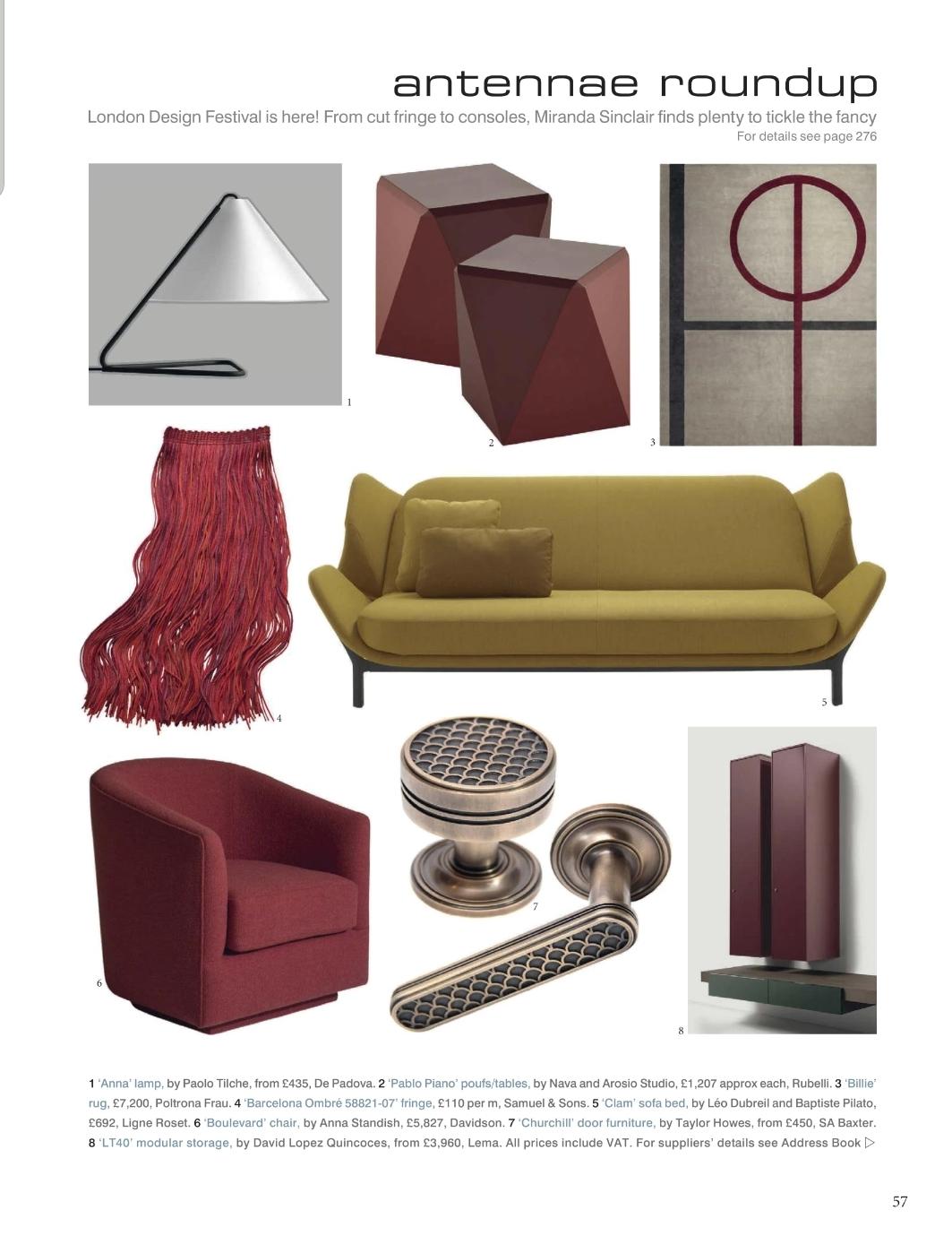 Boulevard Arm Chair - DAVIDSON LONDON designed by ANNA STANDISH