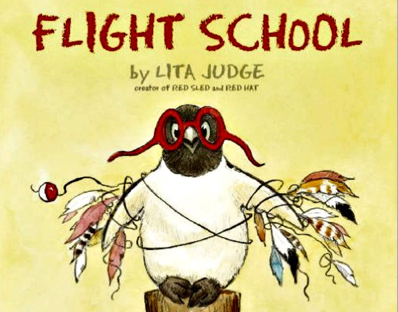 Flight School by Lita Judge is a great book for growth mindset read-alouds.