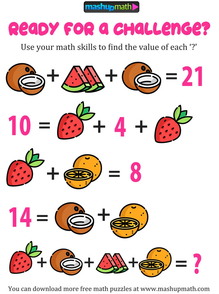 5 Effective Strategies For Improving Your Math Warm Up Activities Mashup Math