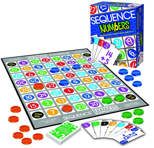 Kids love to play the  Sequence Numbers  game!