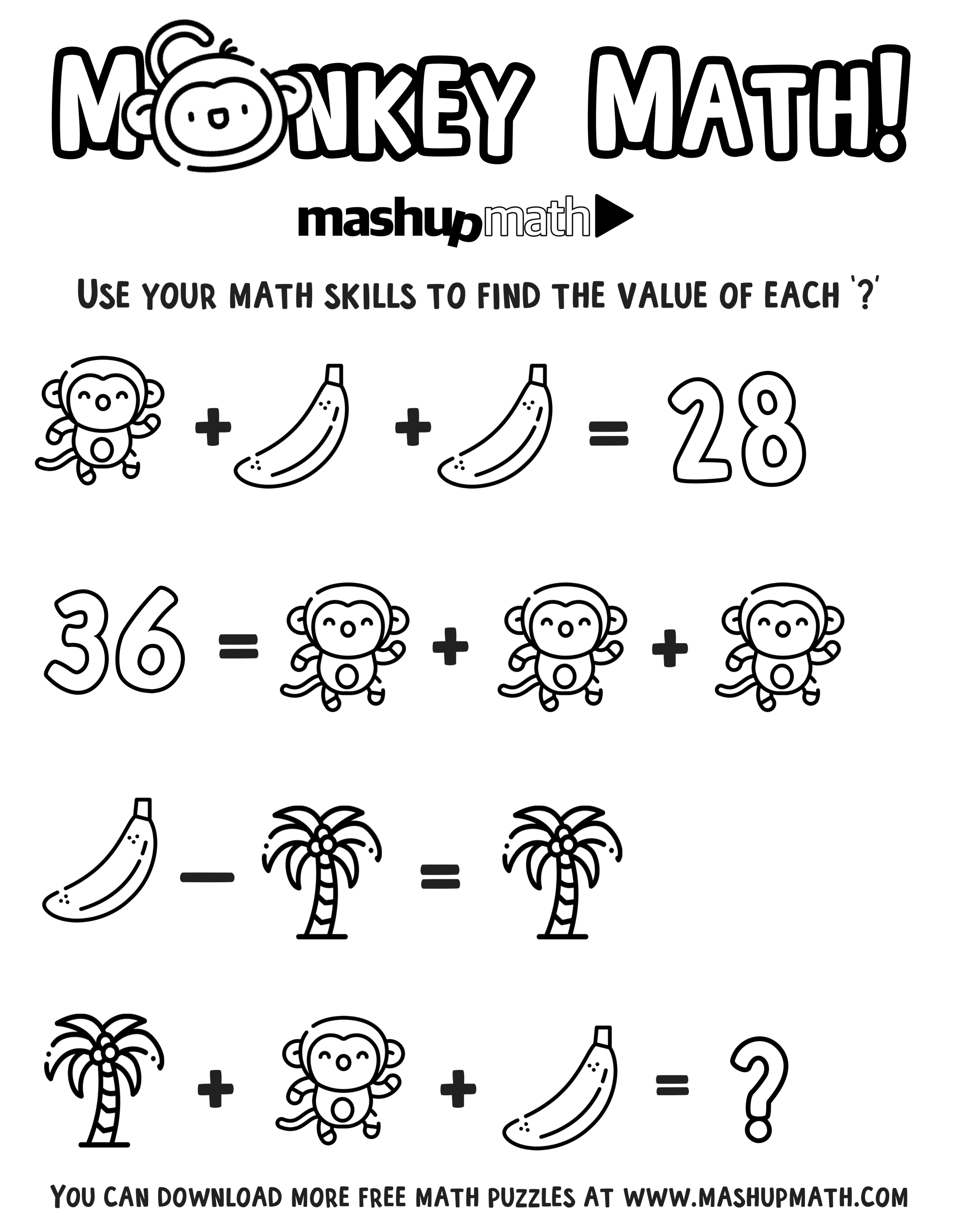- Free Math Coloring Worksheets For 5th And 6th Grade — Mashup Math