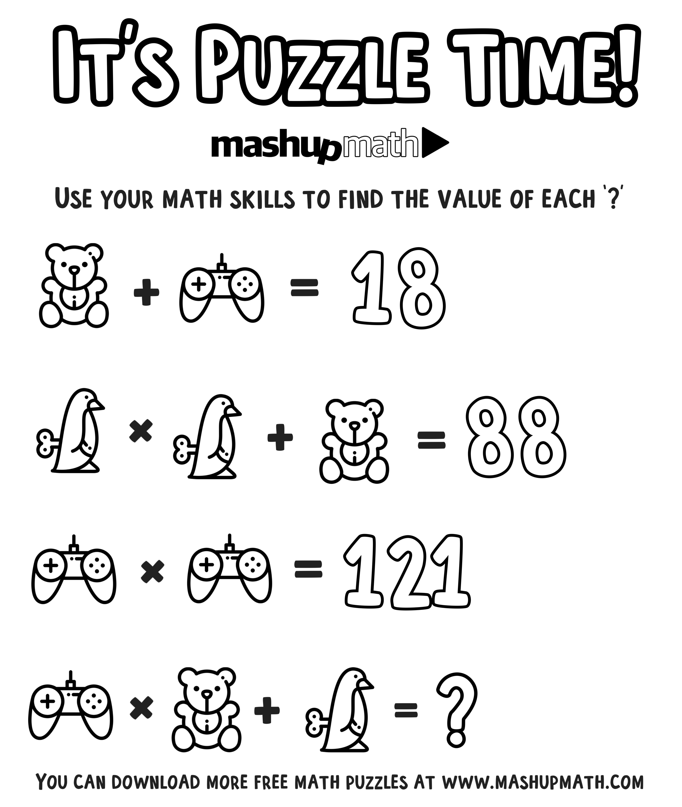 Free Math Coloring Worksheets for 5th and 6th Grade — Mashup ...