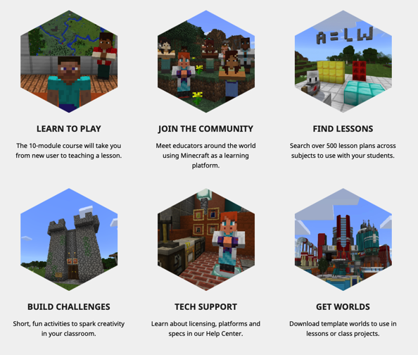 Image Source:  education.minecraft.net