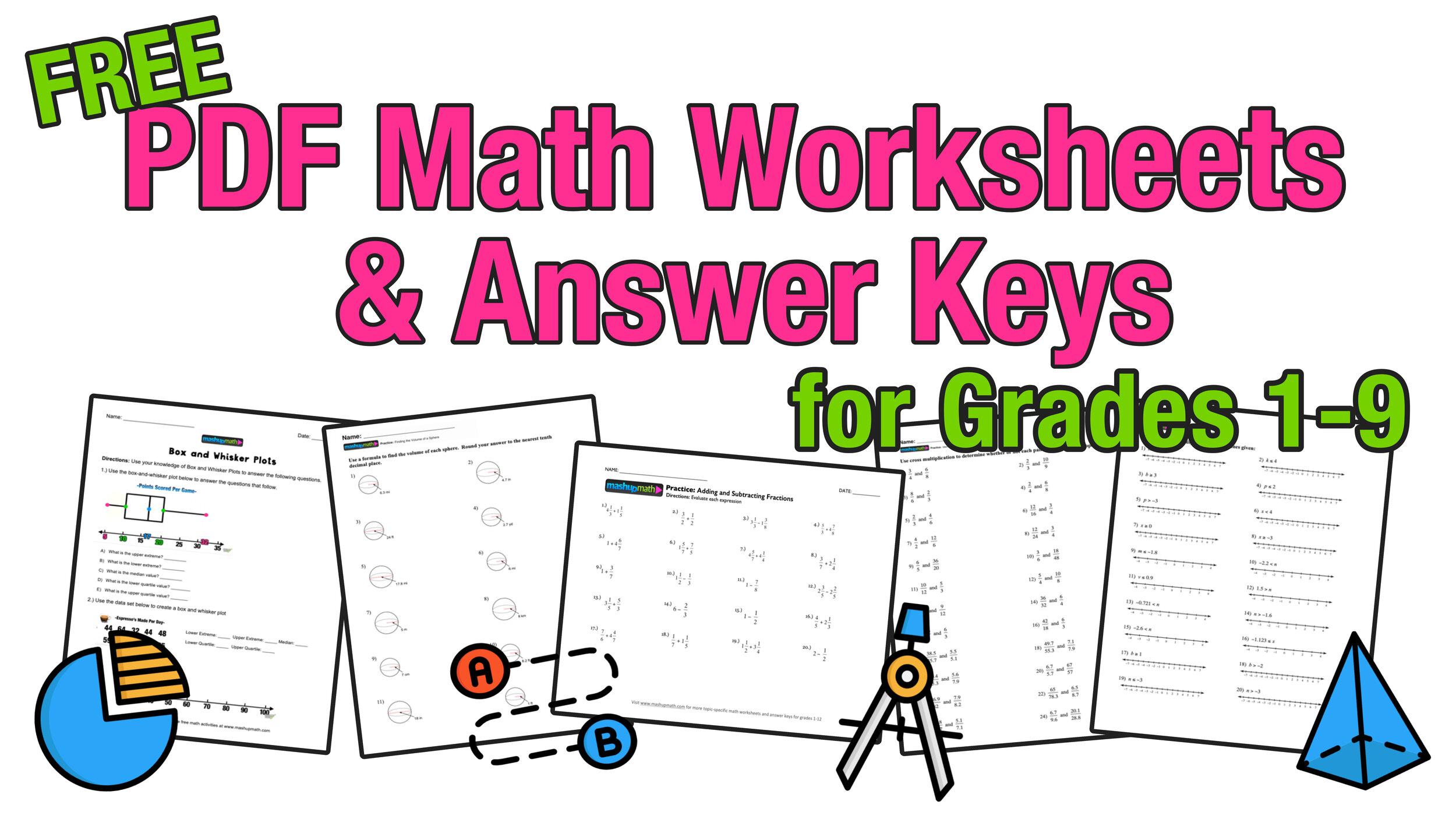 Free Homeschool Math Resources For COVID-19 — Mashup Math