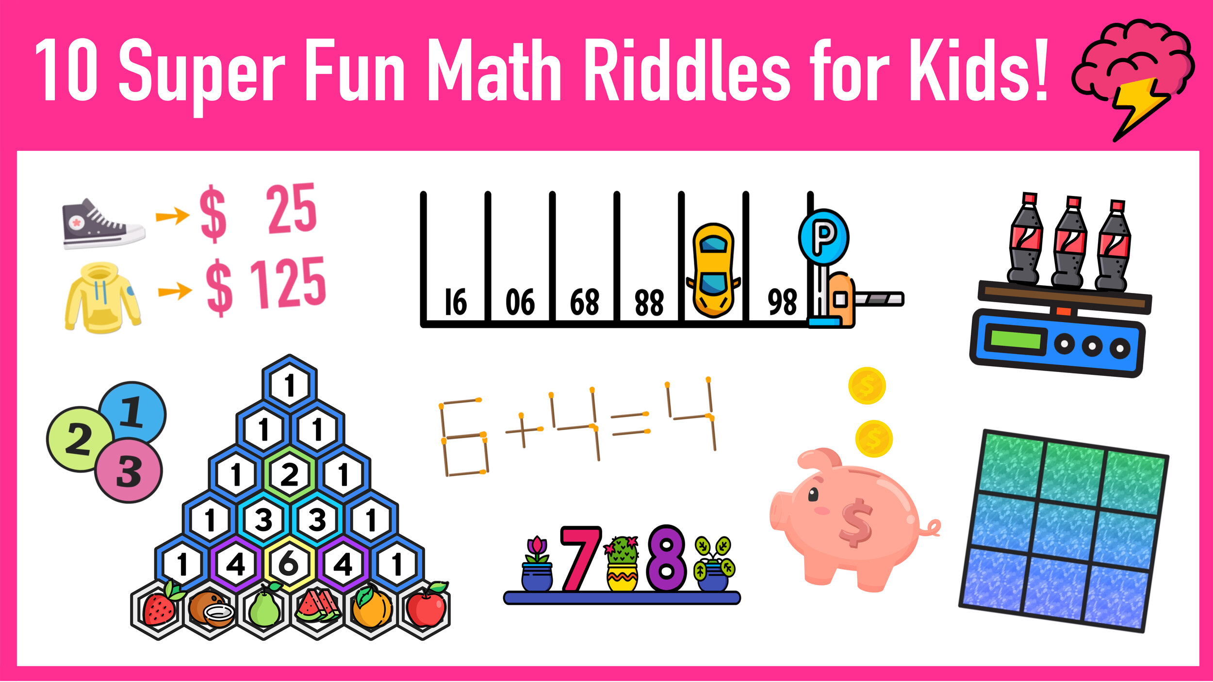10 Super Fun Math Riddles For Kids Ages 10+ (with Answers) — Mashup Math