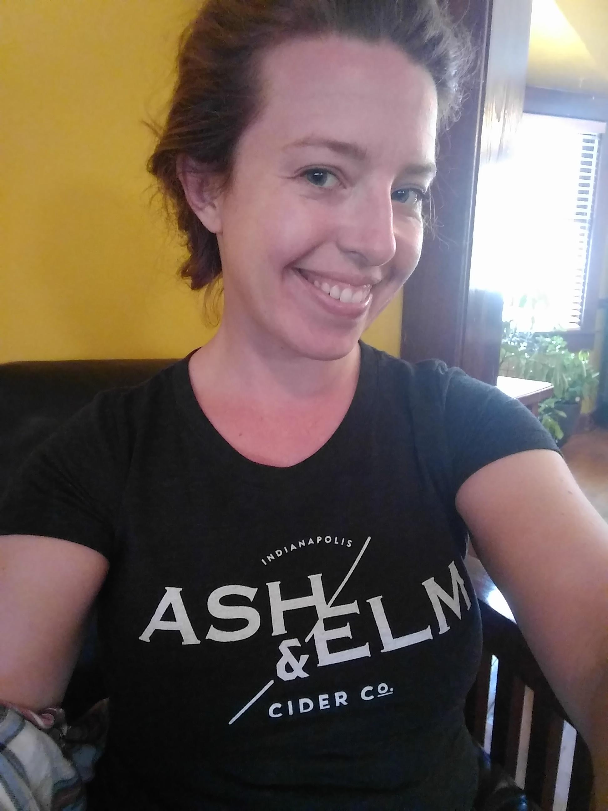 Heyyyy...A&E Shirt Selfie!