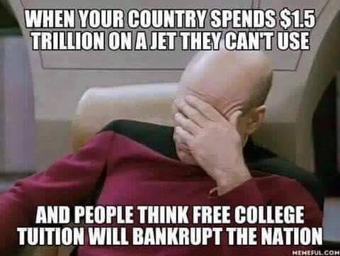 Source:   The Pentagon's 1.5 Trillion Mistake