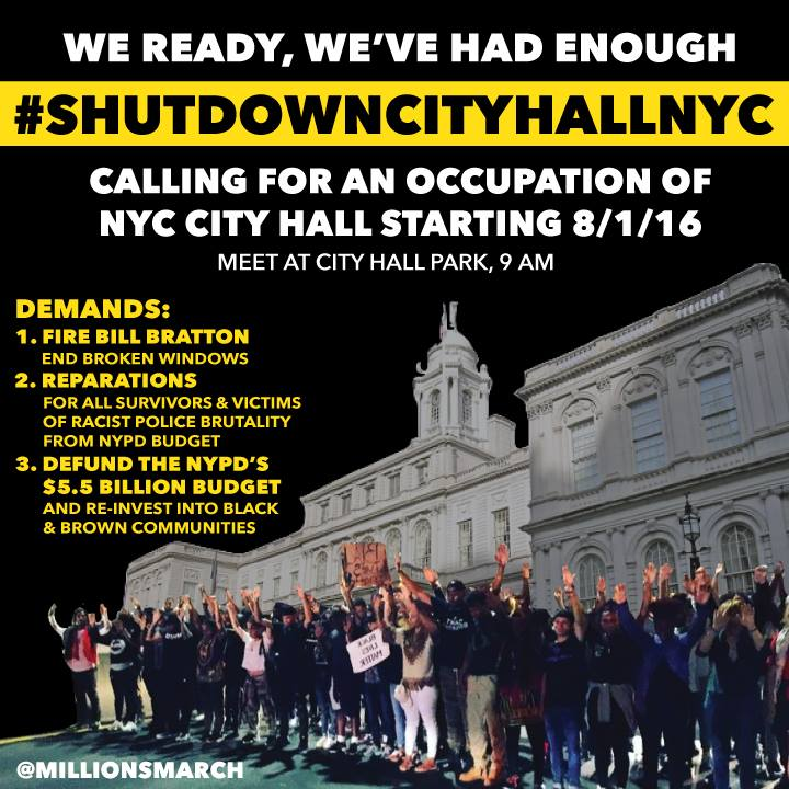 Via  Millions March NYC