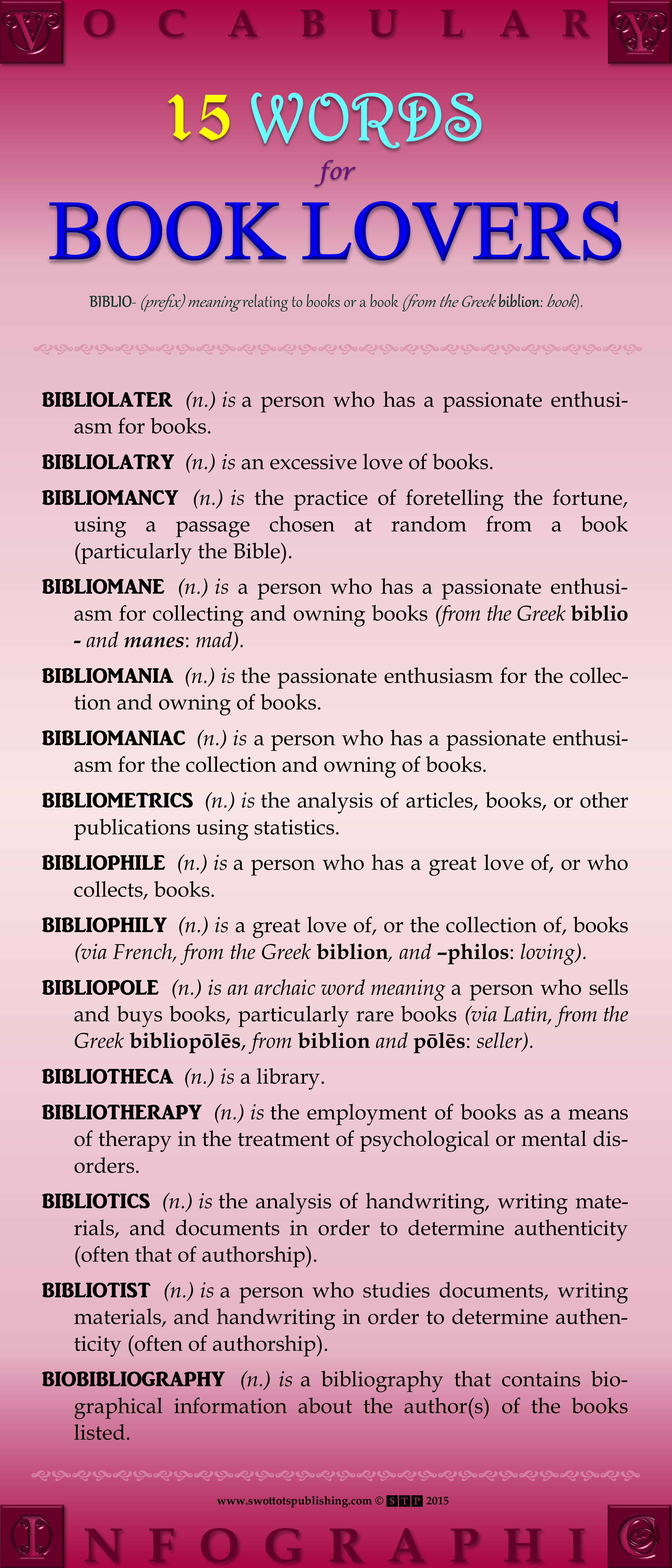Vocabulary Infographic-Word Banks-Book Lovers' Words-001