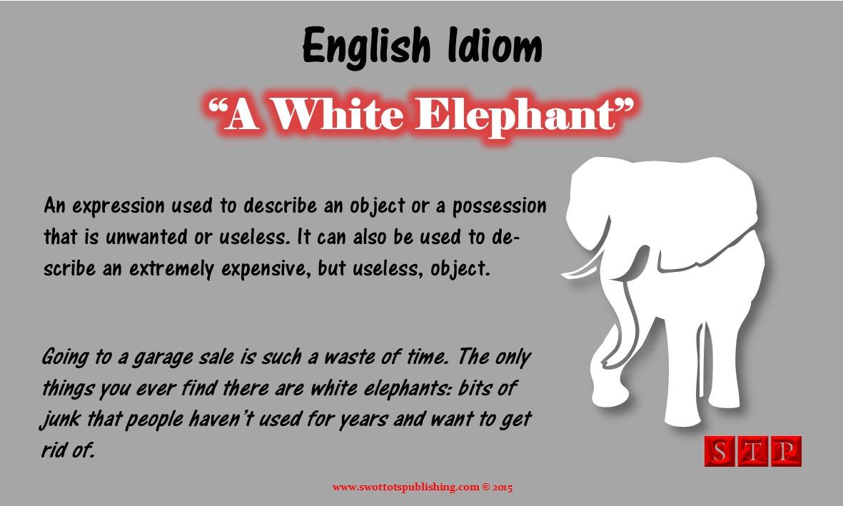Vocabulary Infographic-Provrers, Phrases, & Idioms-Elephant-001
