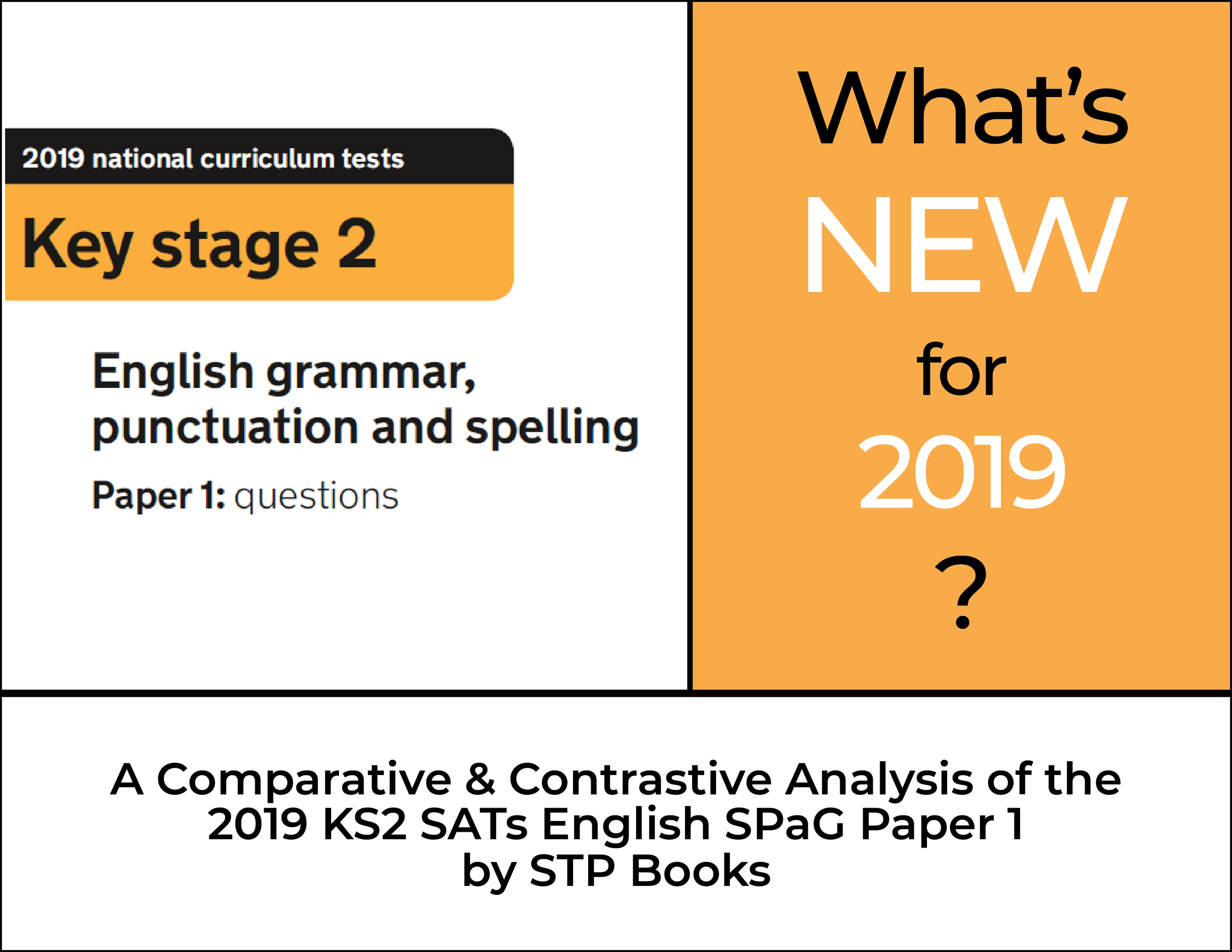 KS2 SATs SPaG English Paper 1 2019 Whats New STP Books.png