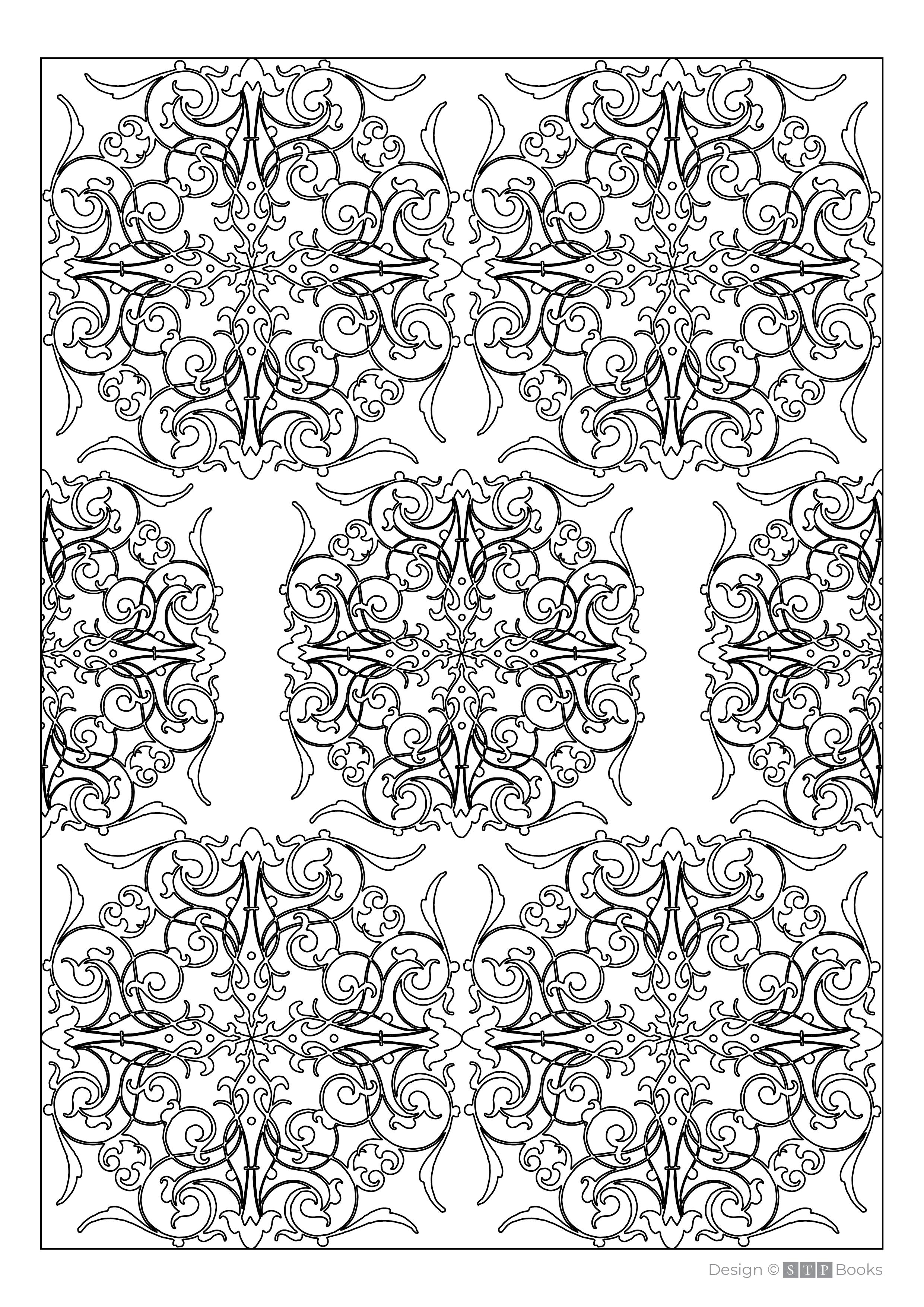 Free Adult Colouring Page Parents Teachers Decorative Design 006 STP Books.png