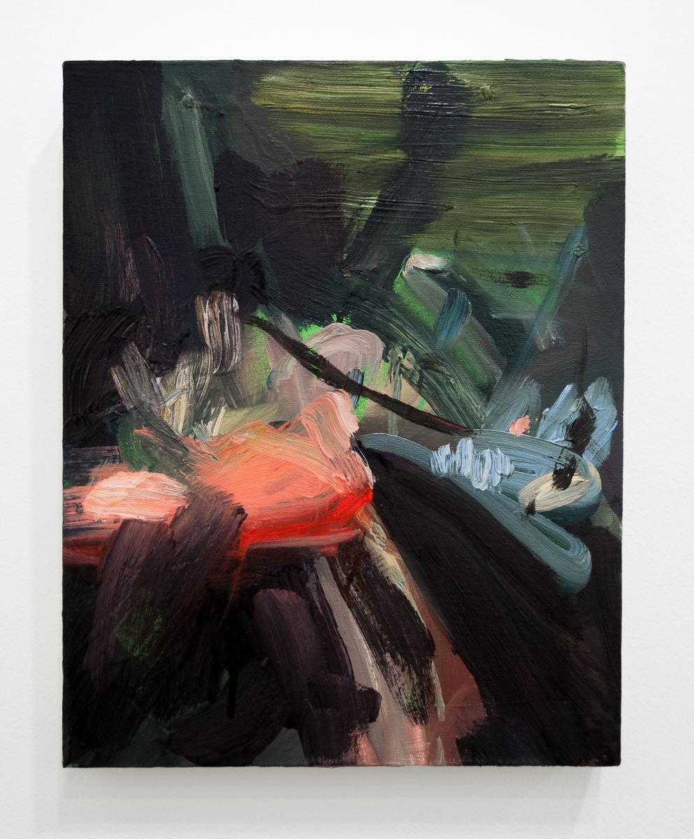 Tiffany Calvert  Untitled #258   oil on canvas 11 x 14 inches 2014
