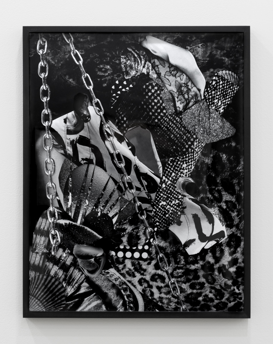 Fay Ray  Finger, Flower, Chain  17 x 22 inches Inkjet prints and polyvinyl acetate 2015