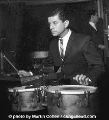 One of the 20th century's musical giants, Tito Puente.  Image via  lpmusic.com