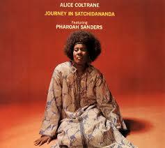 Alice Coltrane's album Journey in Satchidananda . Image via  365jazz.wordpress.com