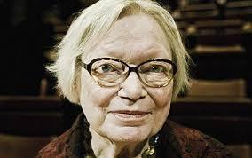 Danish poet Inger Christensen. Imagevia  telegraph.com.uk .
