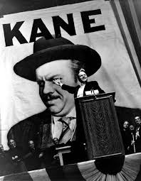 Orson Welles as Charles Foster Kane.  Image via   behindtheseens.wordpress.com .