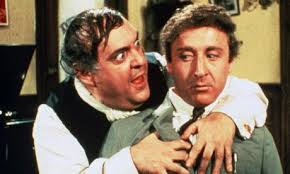 Zero Mostel and Gene Wilder in  The Producers .  Image via  theguardian.com .