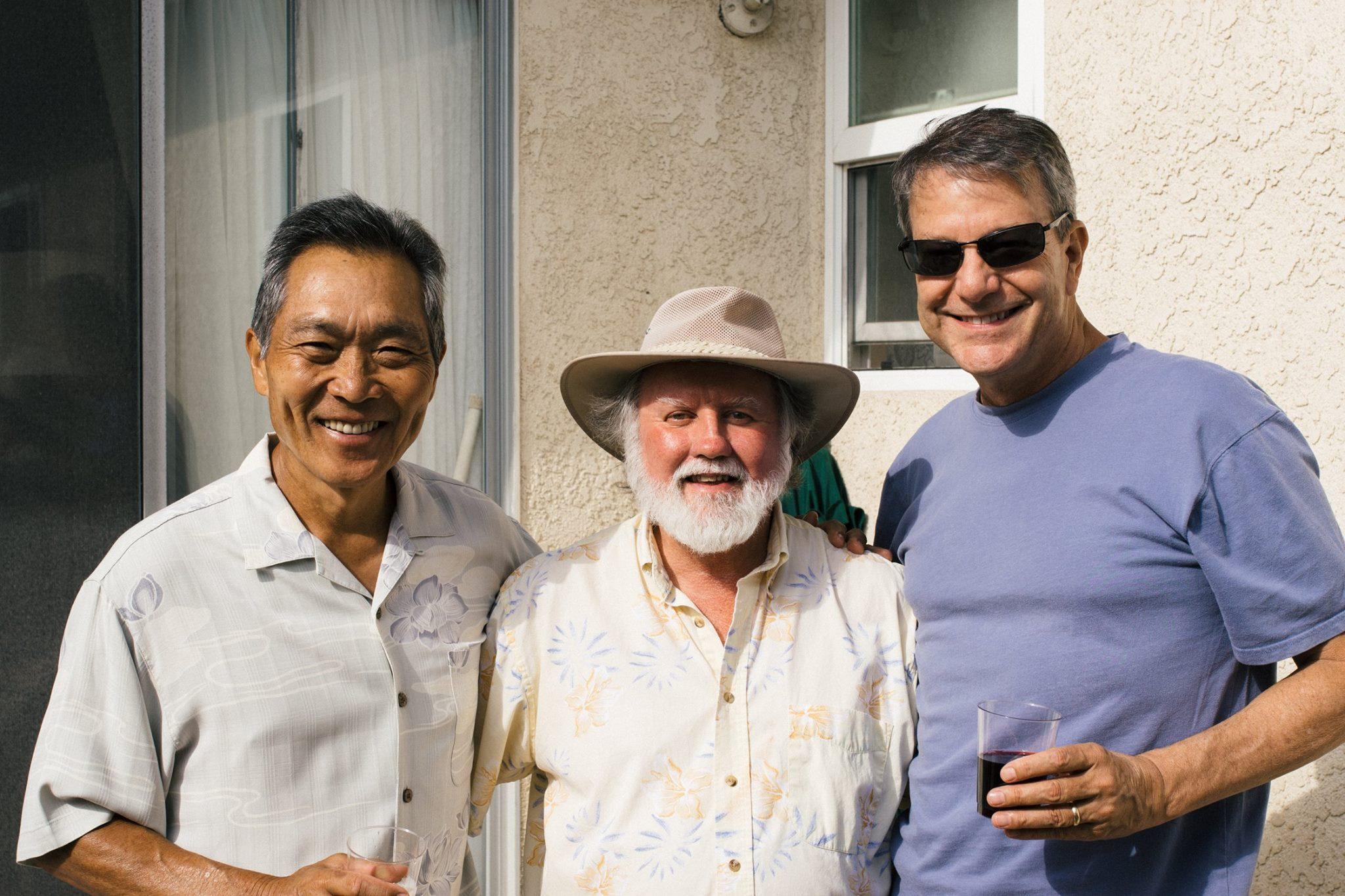 MEL MASUSDA, JACK, & KYLE NORTHWAY                 G(entle)-Men Indeed  Bringing humility, wisdom & courage to many Kingdom enterprises- An honor to know them