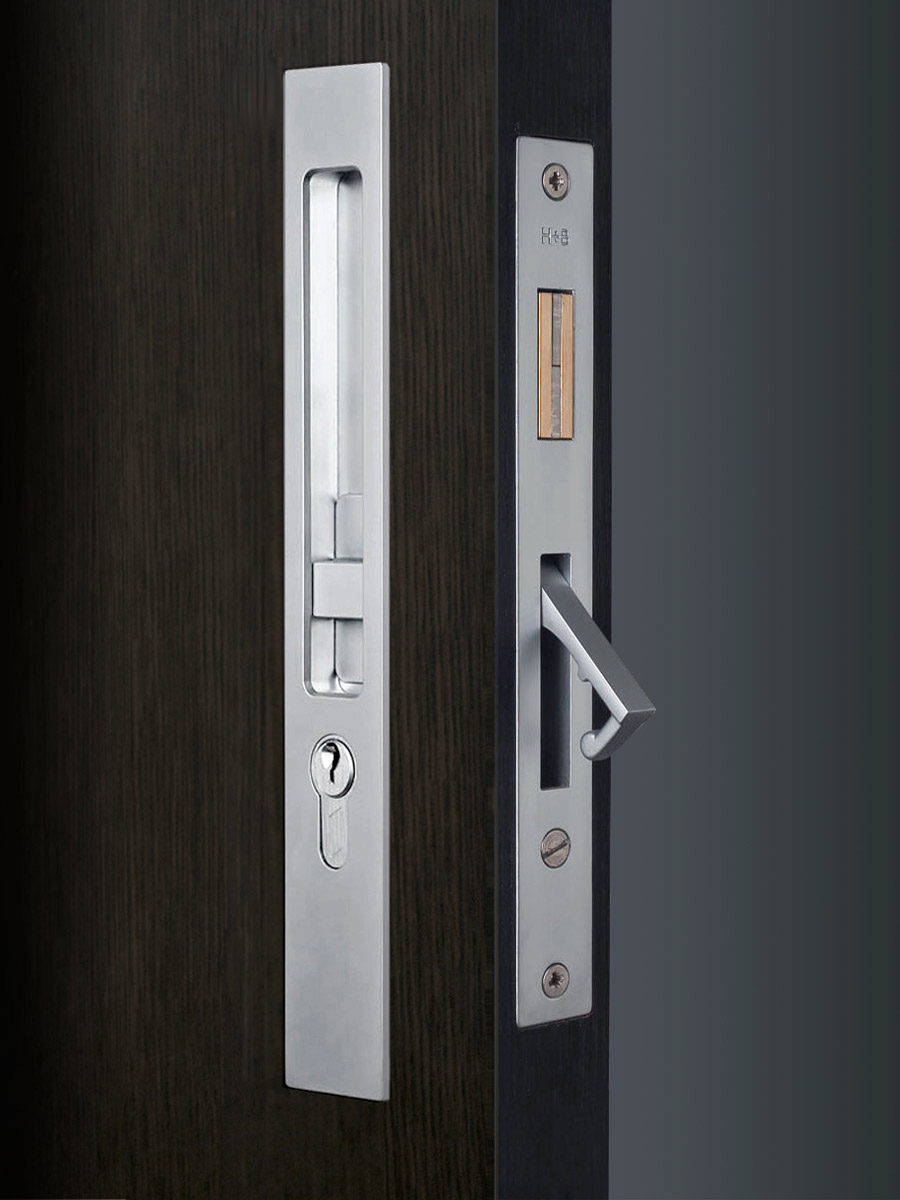 HB 638 : Sliding Pocket Door Entry Lock Set