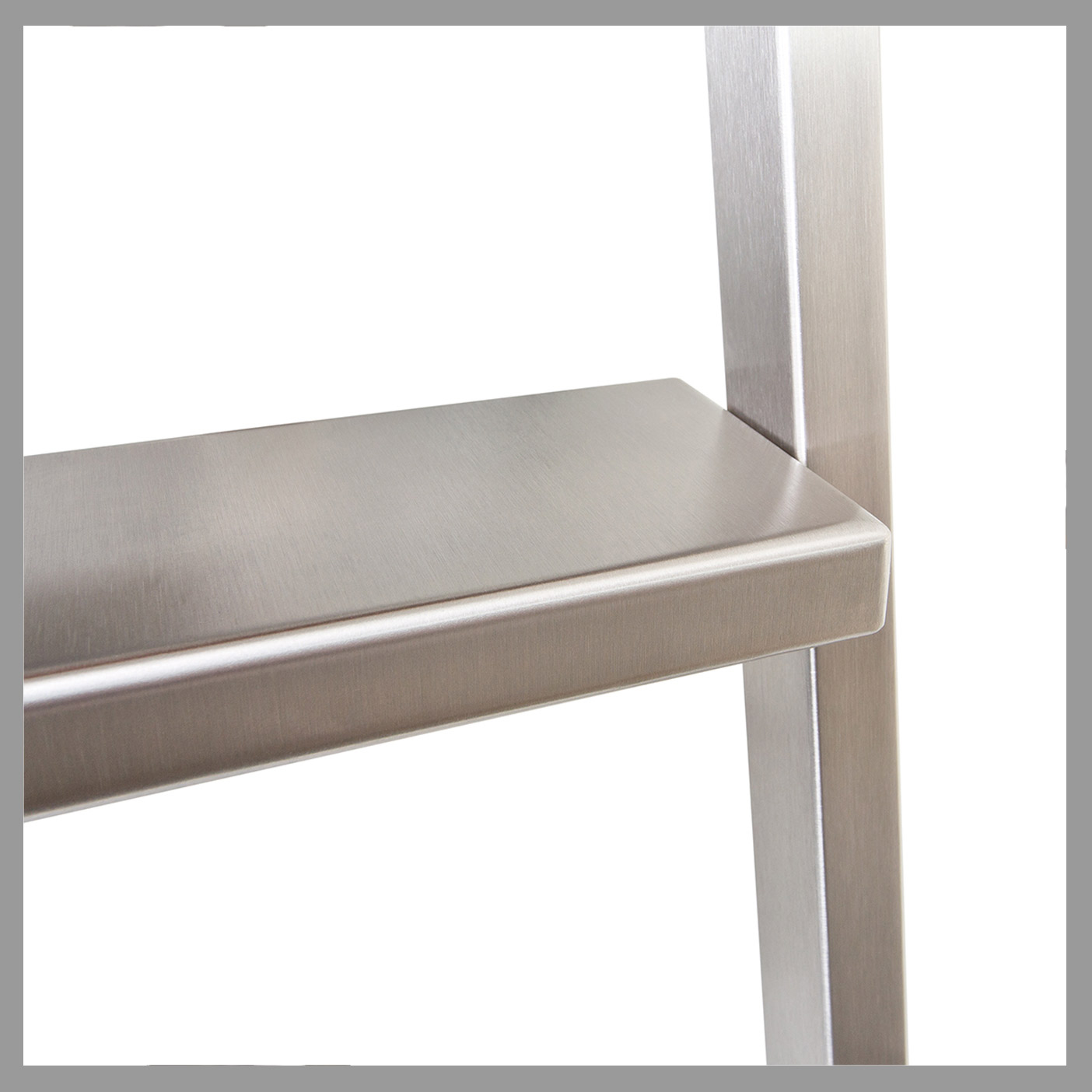 Akzent : Square Stringers + Stainless Steel Steps