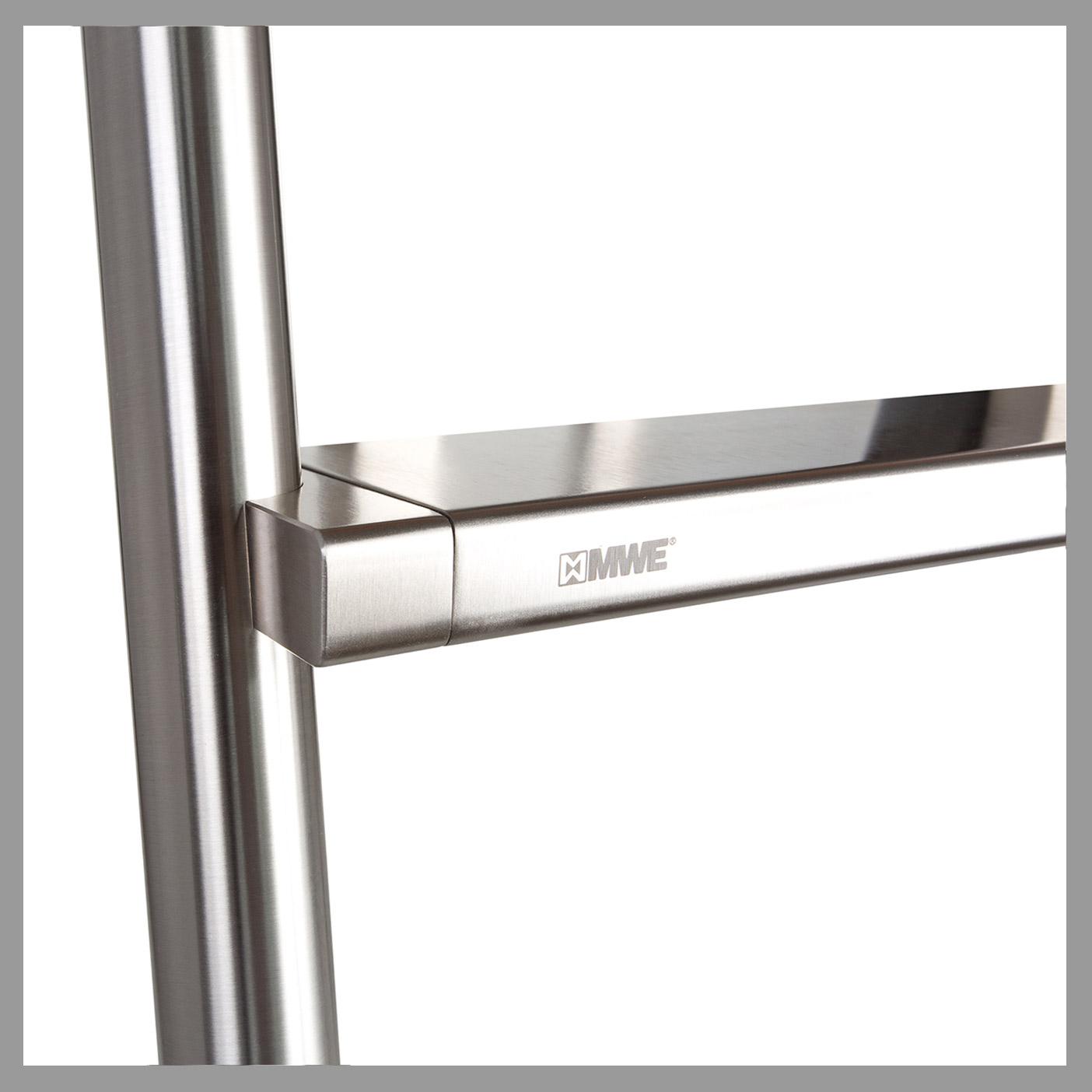 Klassik : Round Stringers + Stainless Steel Steps