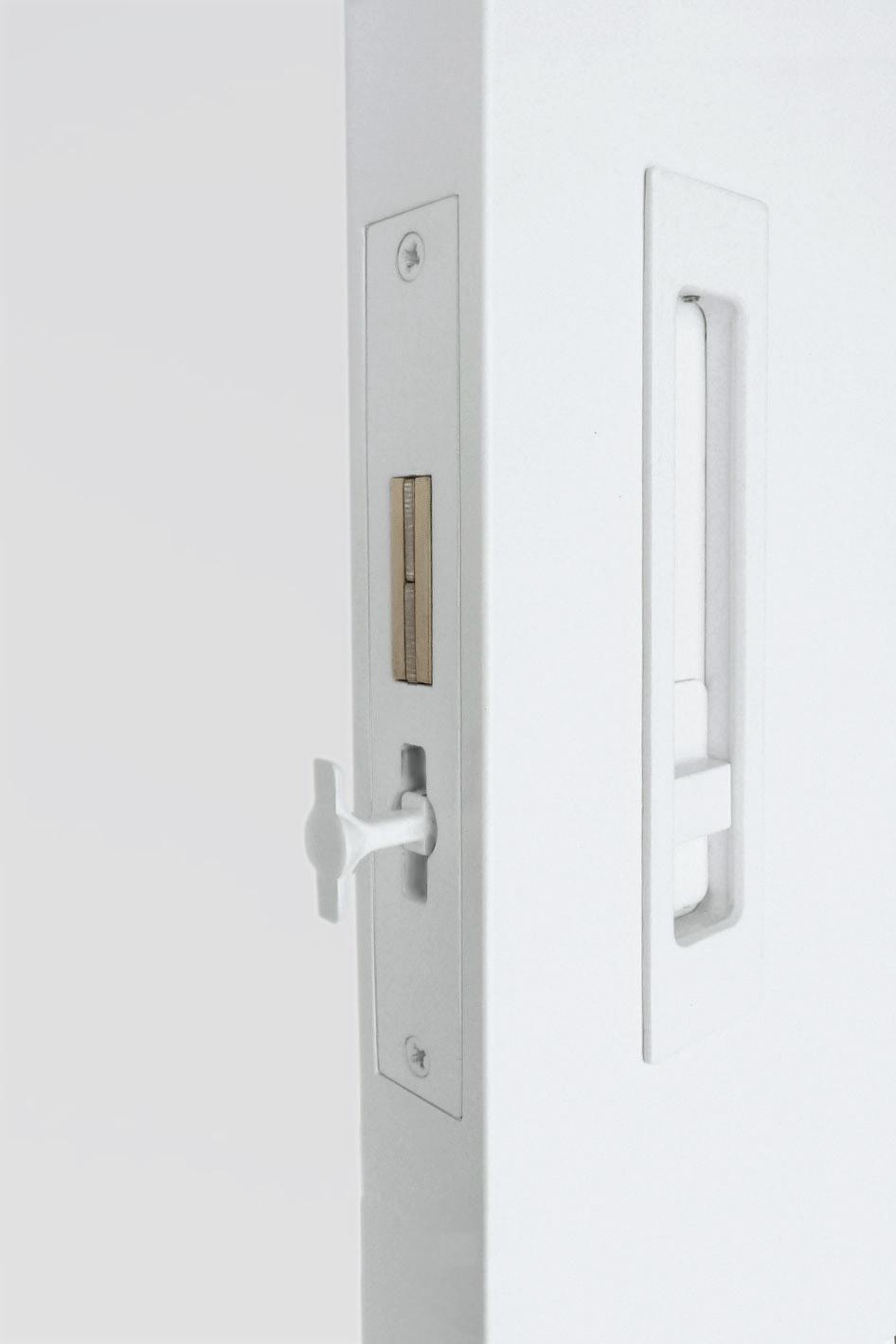 HB 690 : Sliding Pocket Door Privacy Lock Set