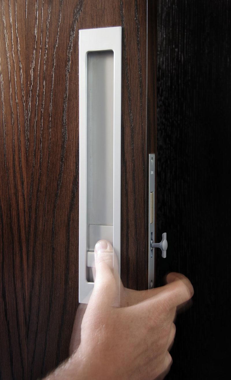 HB 1490/44 : Sliding Pocket Door Privacy Set