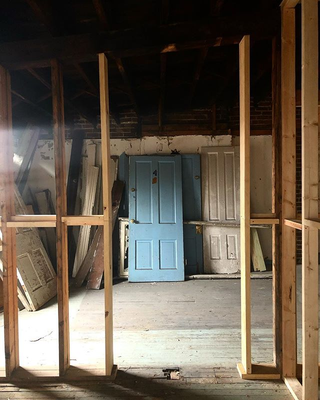 New Openings/Old Doors #historicpreservation