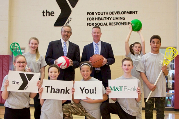M&T Bank helped sponsor our client, YMCA of Greater Rochester, with funding for a new facility.