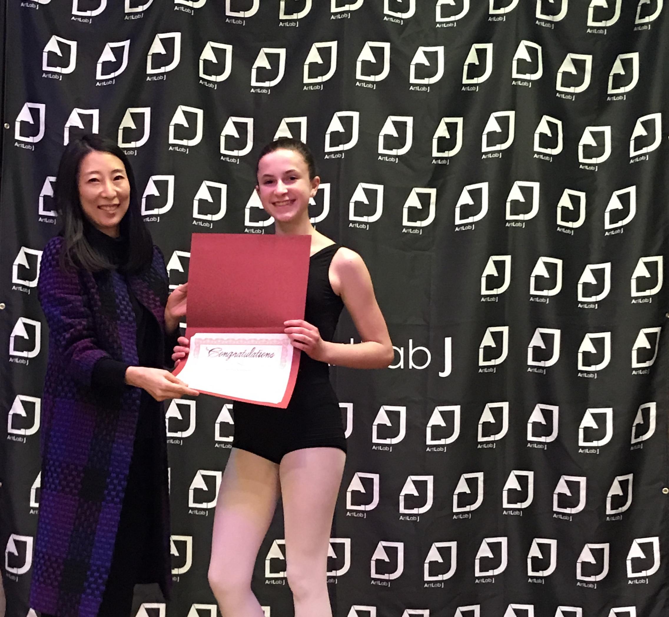 Theresa Sommers - Detroit Dance City Festival - full Scholarship