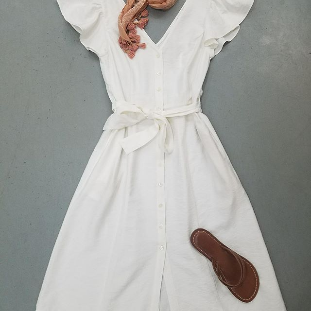 Be Glad~ Graduation in your sight?  White dresses are arriving!  Let us tag one for you and your school.