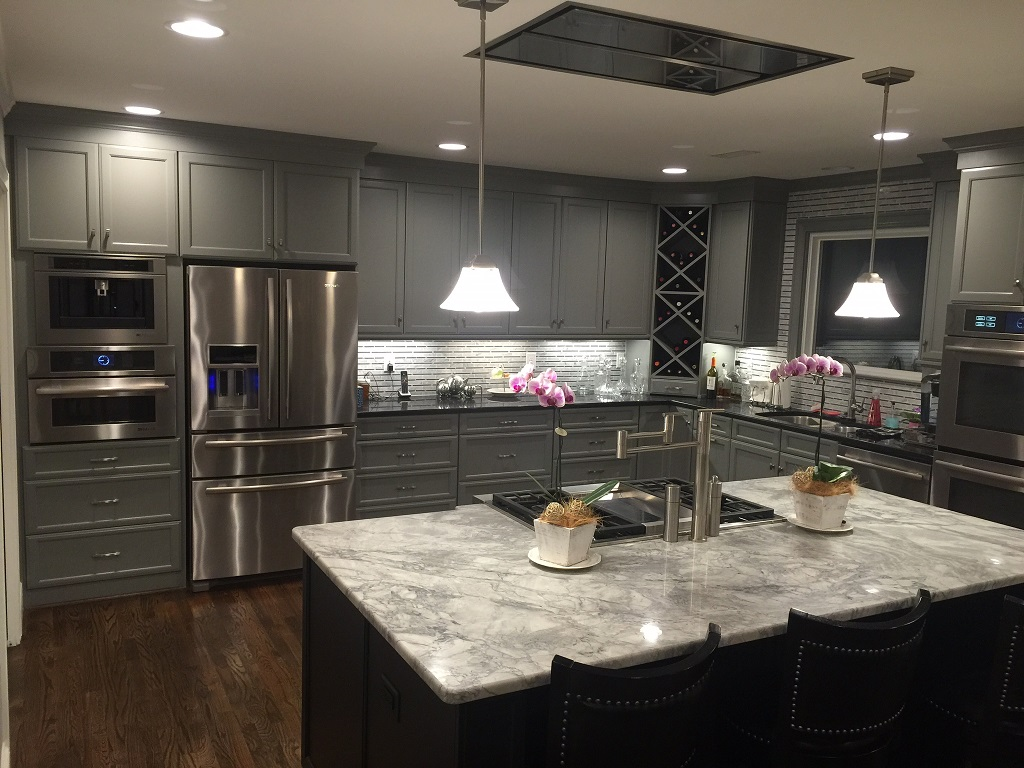 A look at the finished kitchen