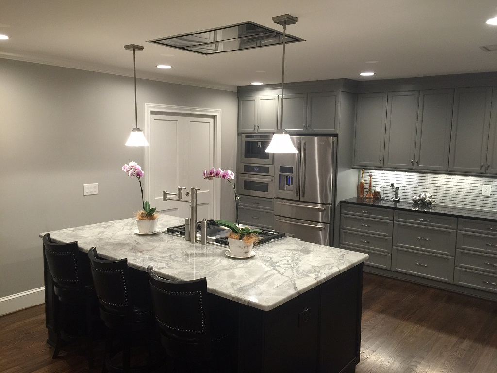 Another view of the finished kitchen