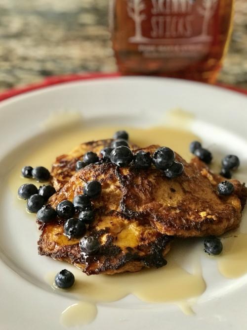 Perfect Paleo Sweet Potato Pancakes -