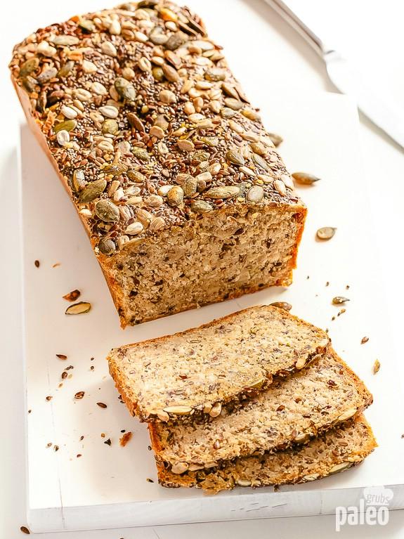 Paleo Seed & Nut bread -