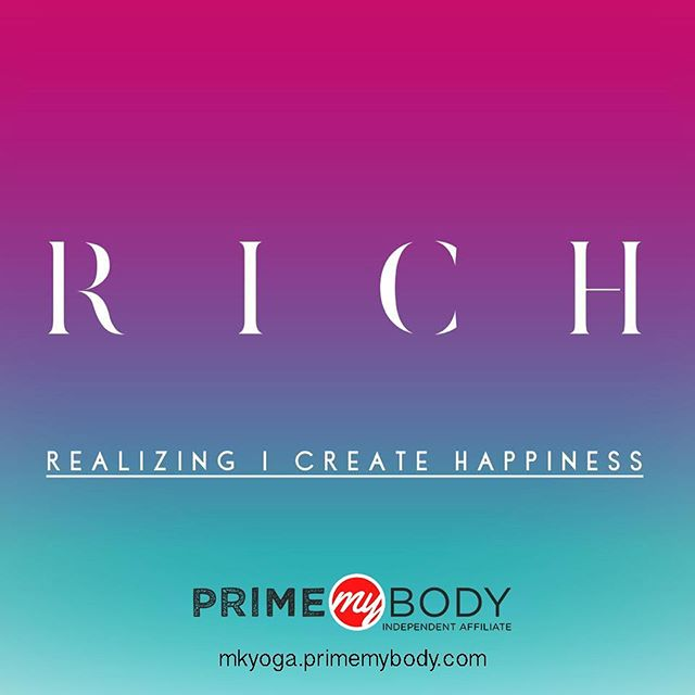 Yoga teacher, wellness coach, Hempress . Yes, I am RICH 🧘♀️🙏🏻🍃 ______ #takeitoffthemat #wellnesscoach #primelife
