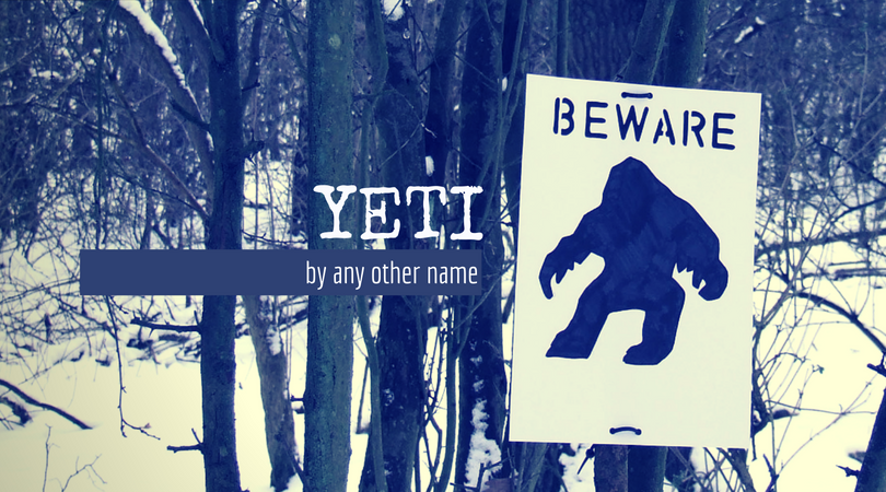 """Yetis Operate in this Area"" by  poppet with a camera  under CC BY-NC 2.0"