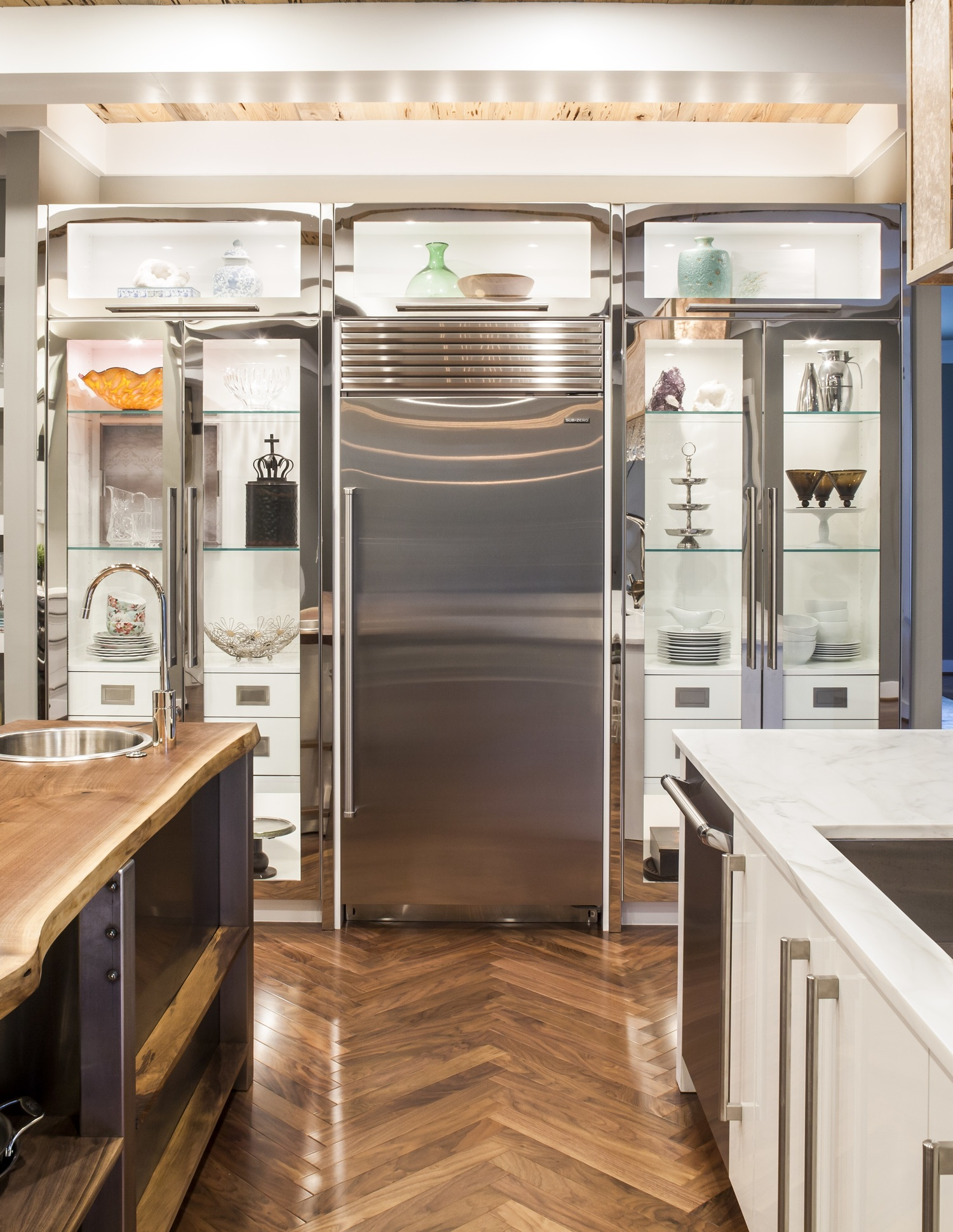 Kitchens Accent Cabinets