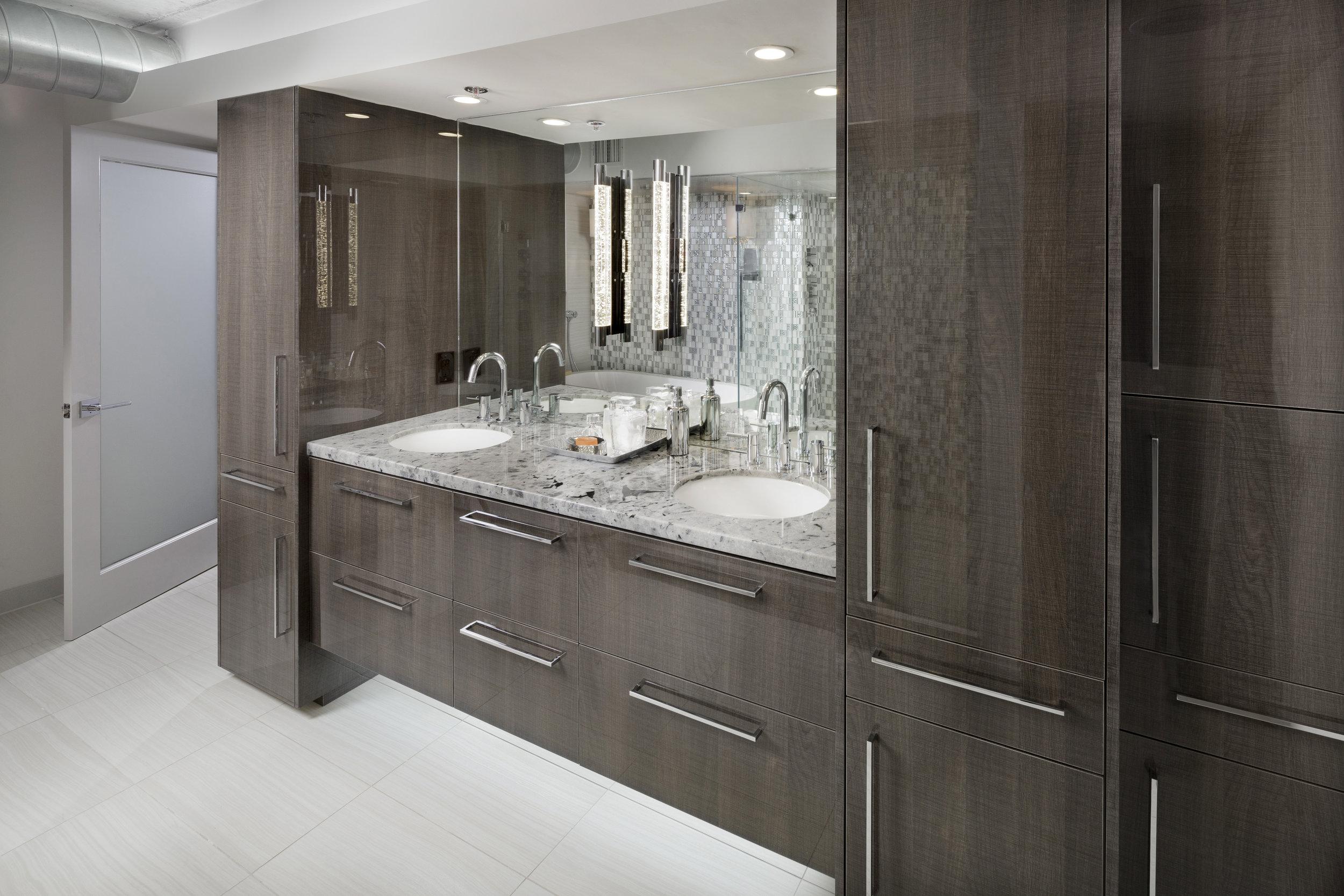 Cutting Edge Contemporary Bathroom