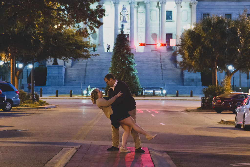 engagement downtown engagement photography