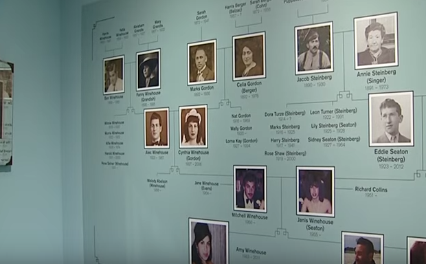 Family Tree featured in the exhibition.