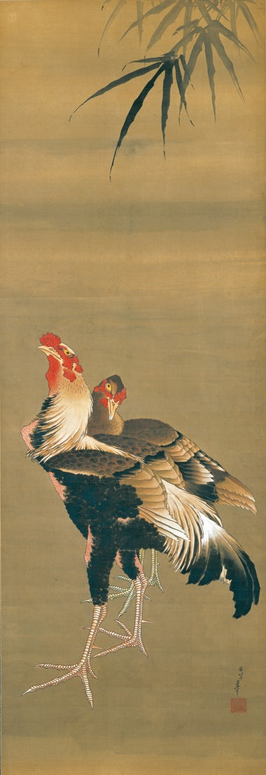 Gamecock and Hen, 1826–34