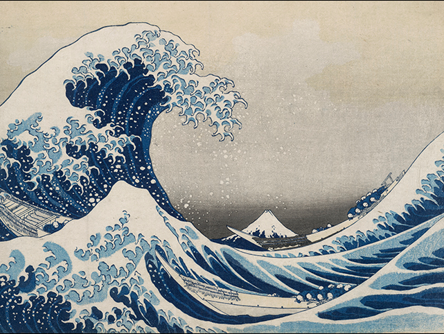 The Great Wave, from the series Thirty-six Views of Mount Fuji