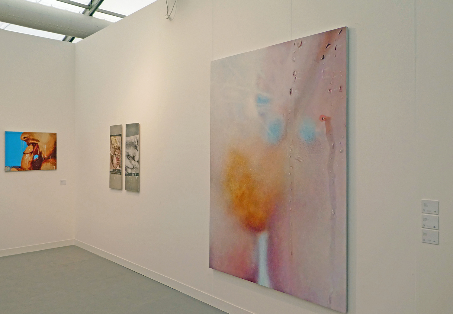 (foreground right) Marilyn Minter